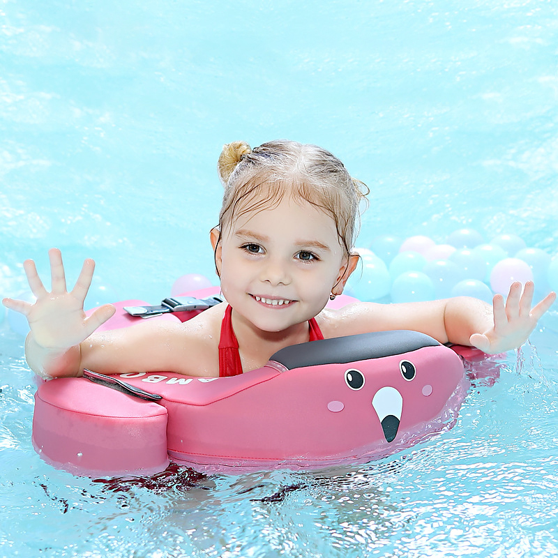 Kids' Floats Swim Neck Floating Ring Baby Lifebuoy No Need Inflate Swimming Pool Accessories Safety Underarm Double Protection