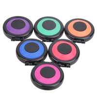 Professional 6 Colors Temporary Hair Dye Powder Cake Styling Hair Chalk Set Hair Color Non Toxic