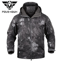 Мандра Night Camo V5 Soft Shell Тактический военный пиджак Для мужчин Водонепроницаемый Зимние флисовые пальто армия одежда камуфляжные куртки