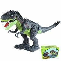Hot Sale Realistic Dinosaur Robot World Flashing Plastic Tyrannosaurs Toy Gorgeous Electronic Dinosaur Toys For Children