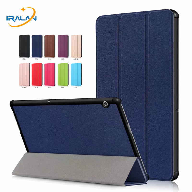 Pu Leather-based Stand Case For Huawei Mediapad T5 10 Ags2-W09 Ags2-L09 Ags2-L03 Ags2-W19 10.zero Inch Pill Magnet Good Cowl+Movie+Pen