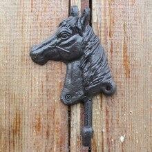 Cast Iron Wall Mounted Horse Head Decorative Hook