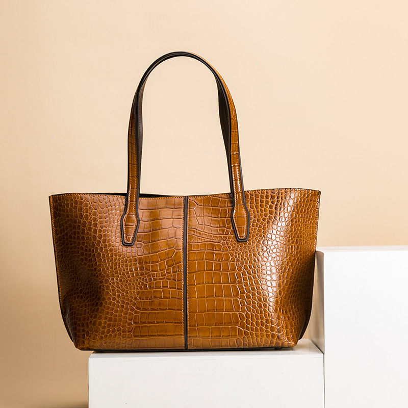 EVANMO Women's Fashion Shoulder Bag Handle Bag Leather Bag Lady Big Capacity Purse Tassel Leather Female Big Tote - 4