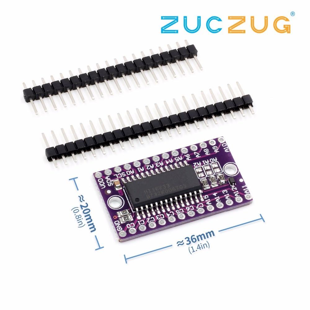 5 PCS new  HT16K33 LED Dot Matrix Drive Control Module for Arduino
