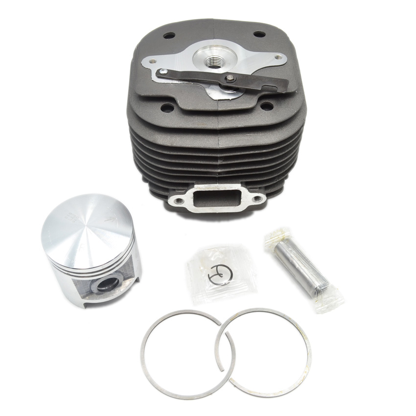 MS070 Cylinder Kit Piston Set 58mm for STL 070 Chainsaw Parts Replaces 11060201202 11060302000 48mm round cylinder piston ring set intake manifold boot round type for husqvarna 365 chainsaw parts