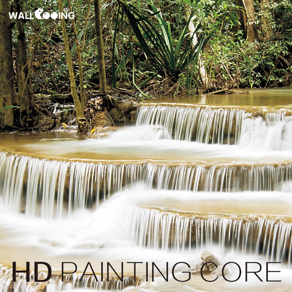 Duvar cooing tekel Tuval Boyama Dekoratif boyama tropikal yağmur - Ev Dekoru - Fotoğraf 4