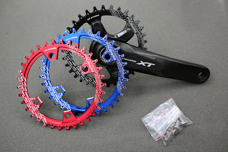 1pc Fouriers CR-DX9000 bike bicycle Narrow Wide Chainrings for S H I M A N O X T R M9000/M9020 11 Speed Crank 104mm round/oval victorinox i n o x 241688 1