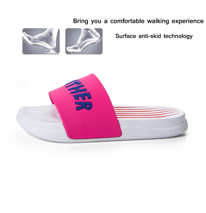 18 summer slippers women sandals Pink Leopard lovely Ladies sandals Non-slip Beach female flip flops Woman Shoes Slides 10