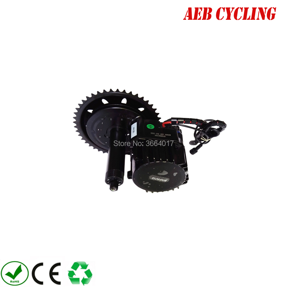 HTB1nIo9bCBYBeNjy0Feq6znmFXaA - Free shipping Bafang BBS-HD 48V 1000W Ebike Electric bike Motor 8FUN mid drive conversion kits C965 display/color LCD display