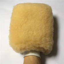 Super Soft 25x20CM Non Scratch Car Wash Cleaning Tools Microfiber Detailing Gloves Synthetic Wool Gloves