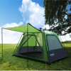 KingCamp Durable 4 Person 2 Season Easy Up Tent For Family Camping