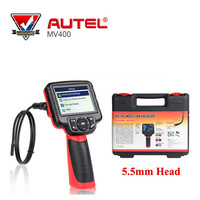 100% Original AUTEL Maxivideo MV400 5.5mm Diameter Imager Head Digital Videoscope Inspection Camera Auto Diagnostic Tools