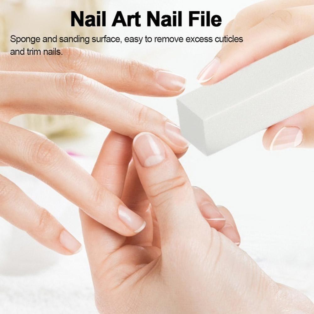 10pcs Fashion Sponge Nail Tools Buffer Block Manicure Polish Sanding Nail Buffing Random Color Nail Art Files Nail Files Buffers Aliexpress