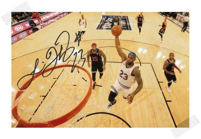 new style cbb5a 117c3 LeBron James autographed signed with pen photo 4*6 inches famous sports  star freeshipping 02.2017