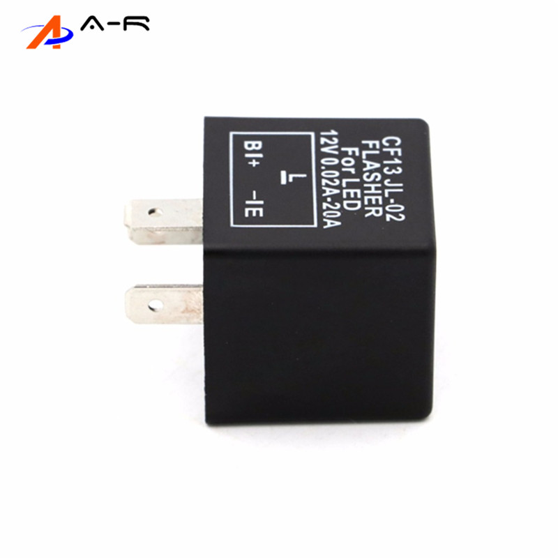 For Led 3 Pin Electronic Flasher Relay Module Cf13 Cf 13
