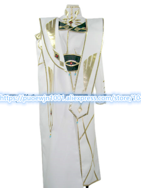 CODE GEASS Lelouch of the Rebellion Emperor Cosplay Costume Custom made full set Custom Made