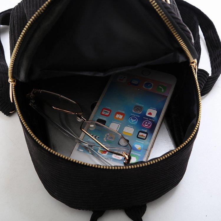 Милый бархатный рюкзак для подростков, детский мини рюкзак, Kawaii, маленькие рюкзаки для девочек, женские рюкзаки, меховая школьная сумка-5