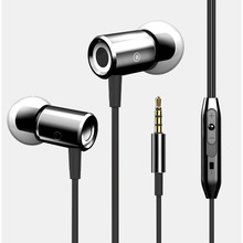 Strong Bass Headset 3.5mm Jack Headphones Stereo Earphone with Mic Music Earphones Universal for Xiaomi Samsung iPhone