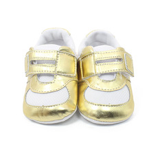 The Fashion Patchwork Cotton Shallow For Spring/Autumn Baby Unisex Shoes Soft Sole Sport First Walkers 2016