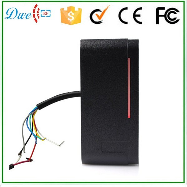 DWE CC RF 13.56 mhz outdoor RFID Card Reader for Access Control System Wiegand 26 free shipping doumoo 330 330 mm long focal length 2000 mm fresnel lens for solar energy collection plastic optical fresnel lens pmma material