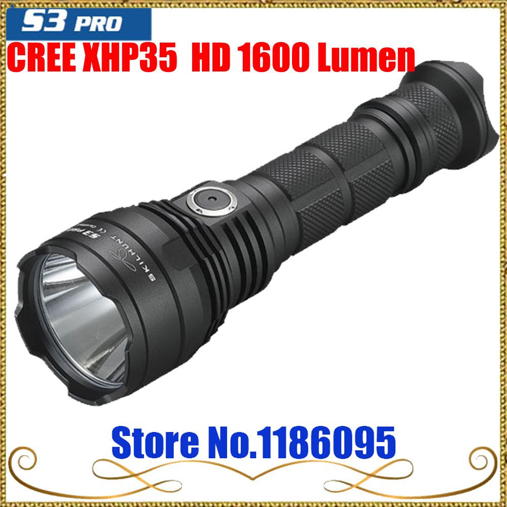 NEW Skilhunt S3 pro USB rechargeable tactical flashlight CREE XHP35  HD 1600 Lumen flashlight embroidery bandeau bikini set