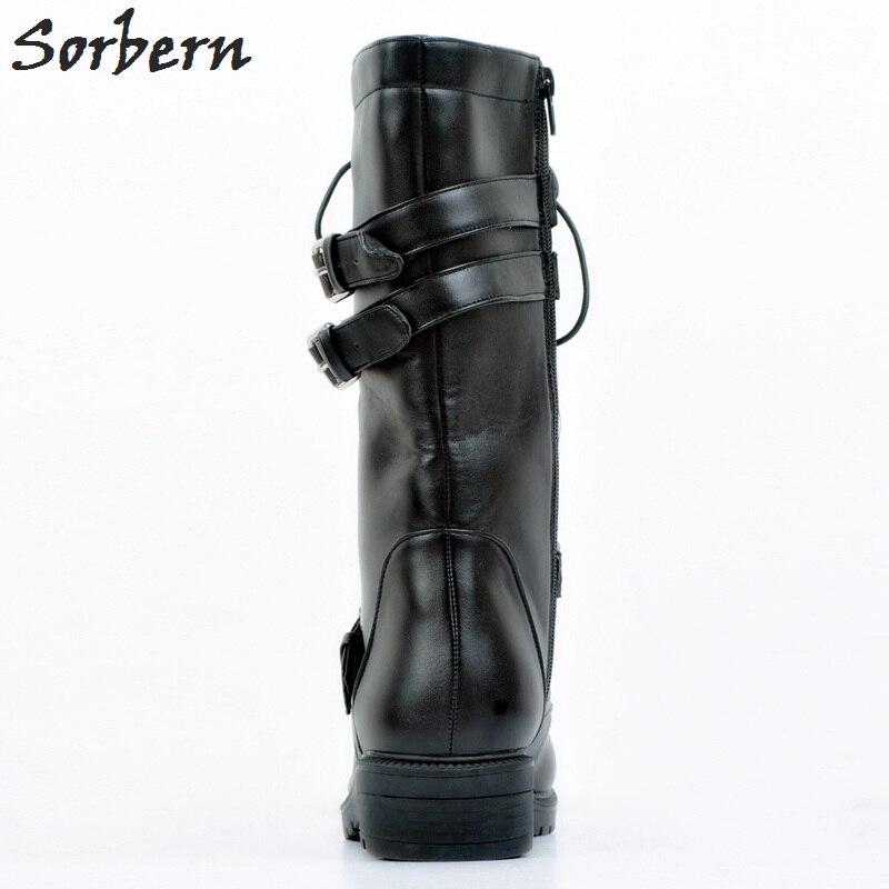 Femmes Plein Noir Lacent En Taille Bottes Chaussures Botines Pour Femme Mujer Botte La Chaude Plus Air Dames Cheville gqwdAScq6U