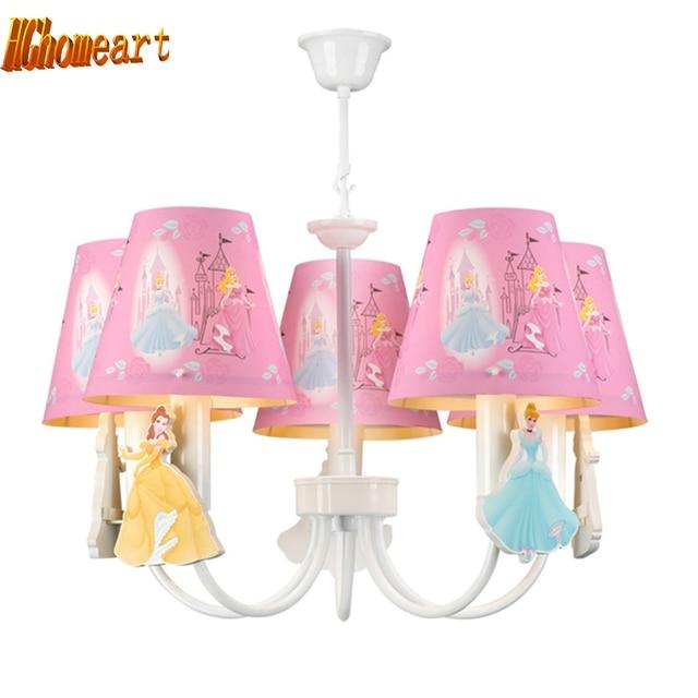 US $54.4 15% OFF|Hghomeart Kinderzimmer Led Rosa Kronleuchter Licht E14  Chinesischen Kronleuchter Led lampen Hause Beleuchtung Moderne Treppe ...