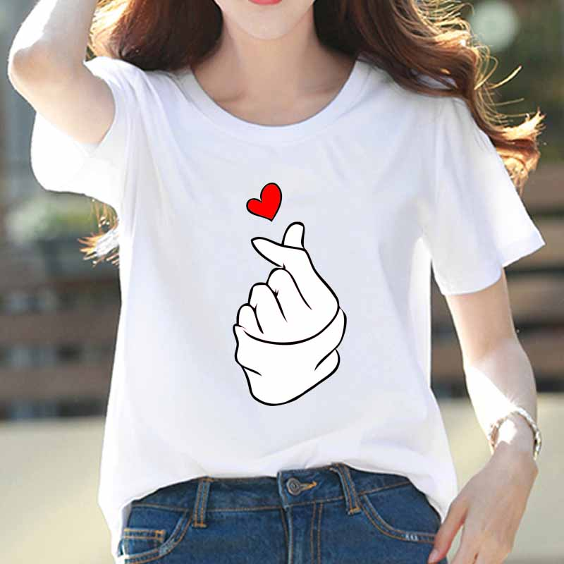 Summer Fashion T Shirt Women Pattern Printed T-shirt Woman Tee Tops Casual Female T-shirts