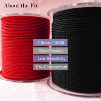 About the Fit 1.5mm 100M Braided Milan Silk Cords Jewelry Accessories Threads Bracelet Necklace Making Beading Crafts Woven Lace