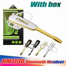 New HM1000 bluetooth earphone wireless headset Business Handsfree Auriculares fone de ouvido for smartphone(China)