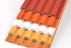 Effects Cladding Fantasy Ceiling-And-Wall PVC for Wood Option of Acoustical-Absorption