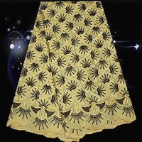 (5yards/lot) SPC106,100 % cotton Swiss voile lace fabric,big quality embroidered African lace fabric for lady dress!
