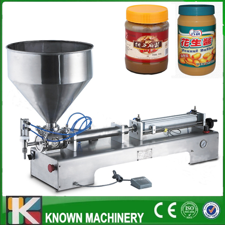 Shampoo lotion cream yoghourt honey juice sauce jam gel filler paste filling machine, pneumatic piston filler with free shipping jiqi manual food filling machine hand pressure stainless steel pegar sold cream liquid packaging equipment shampoo juice filler