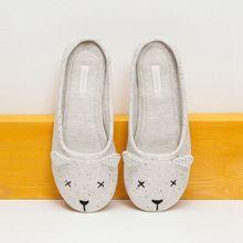 Cute Animal Cartoon Winter Home Slippers Women Indoor Cotton Shoes For Girls Ladies Female House Bedroom Floor Warm Flats 2016