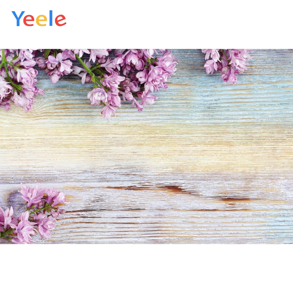 Yeele Lace Gradient Color Wood Bred Commodity Show Cloth Newborn Photography Backgrounds Photographic Backdrops For Photo Studio in Background from Consumer Electronics
