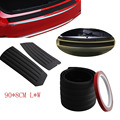 Car Rear Bumper Scuff Protective Sill Cover For Mitsubishi ASX/Outlander/Lancer Evolution/Pajero/Eclipse/Grandis