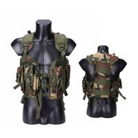 Seal Tactical Vest Painball Equipment Body Armor Military Airsoft Army Hunting Vest Outdoor Combat Protection Vest Camouflage