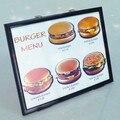 Nueva llegada 4D Junta Hamburguesa hamburguesa de tablero trucos de magia apoyos mágicos