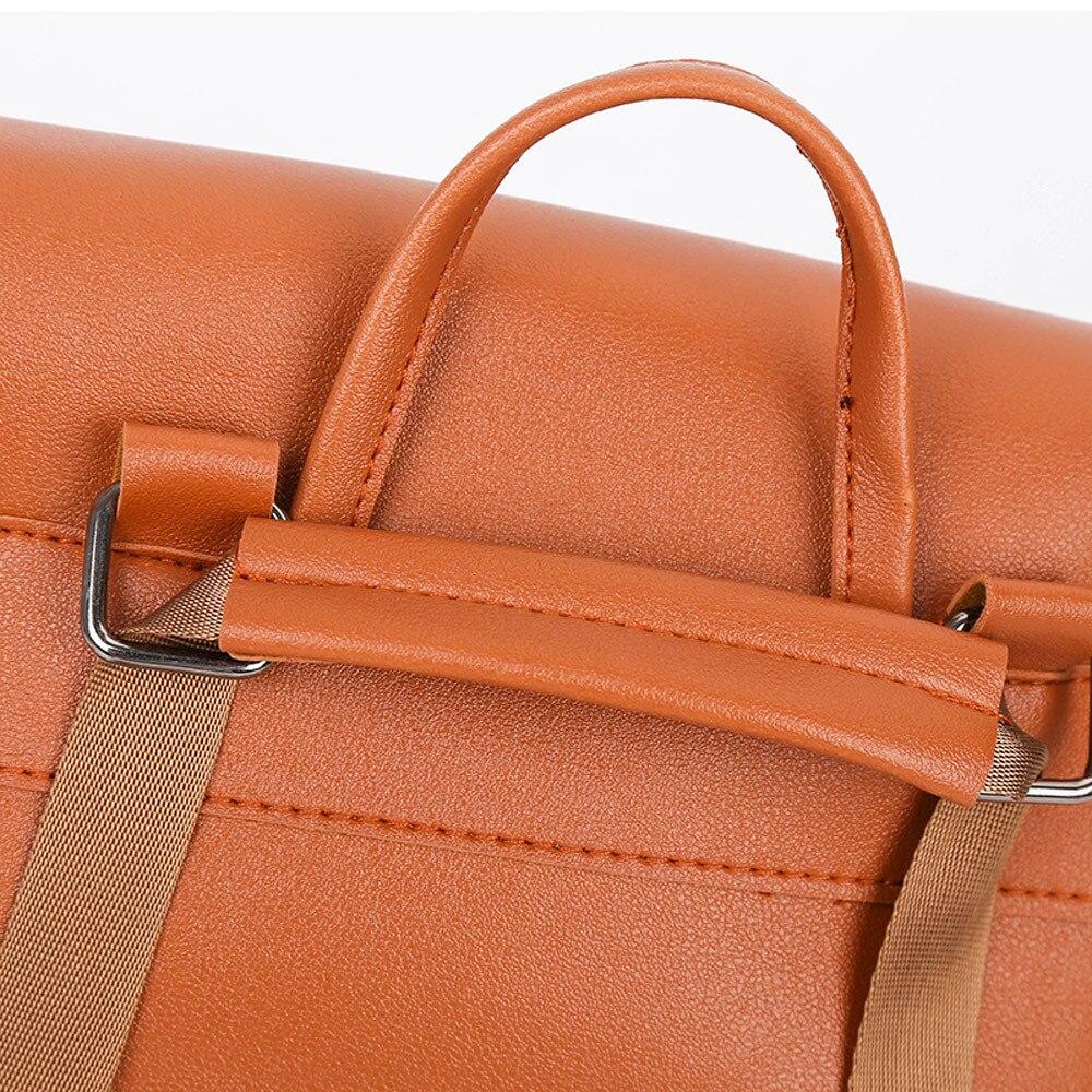 HTB1nIrpa.KF3KVjSZFEq6xExFXav - Casual Large Capacity Shoulder Bags Vintage Pure Color Leather School Bag Backpack Satchel Women Trave Shoulder Bag