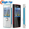 Оригинальный разблокирована Nokia X2-00 мобильный телефон 5.0MP Восстановленное камера, Bluetooth, FM радио, MP3 MP4 плеер Бесплатная доставка гарантия 1 го...
