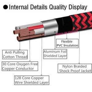 Image 3 - Стерео аудио кабель со штекером 1/4 дюйма и разъемом 6,35 мм на 2 штекера XLR для микрофона, миксера, консолей, усилителя, Y разветвитель, адаптер 1 м, 2 м, 3 м, 5 м