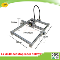 Disassembled LY 3040 Blue Violet Laser Engraver 500mw Mini DIY Laser Marking Machine Carving Size 30