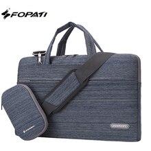 2017 Fashion 11,12,13,14 15.6 inch Laptop Bag Notebook Shoulder Messenger Bag Men Women Handbag Sleeve for Macbook Air Pro Case