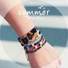 Go2boho TIla Beads Bracelets Women MIYUKI Bracelet Summer Beach Jewelry Bohemian Pulseras Mujer 2019 Handmade Loom Diy Leopard