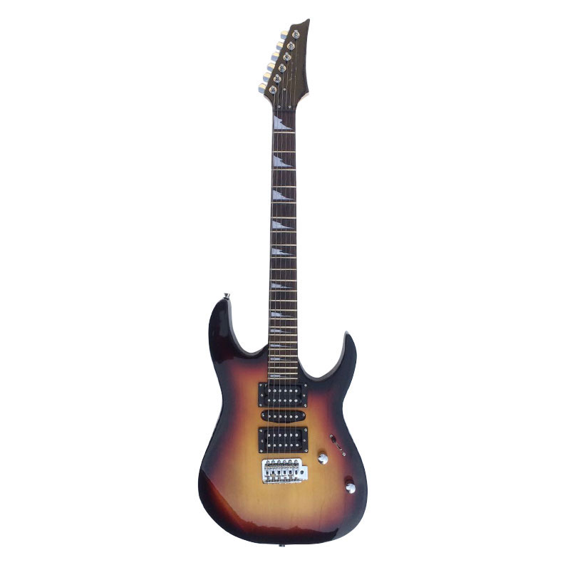 Yuker 39 Inch High Quality Electric Guitar Basswood Body Rosewood Fingerboard 6 String Guitars Guitarra Instrument 4 Colors yuker 39 inch electric guitar 6 strings 22 frets high quality mahogany body rosewood fingerboard electric guitarra