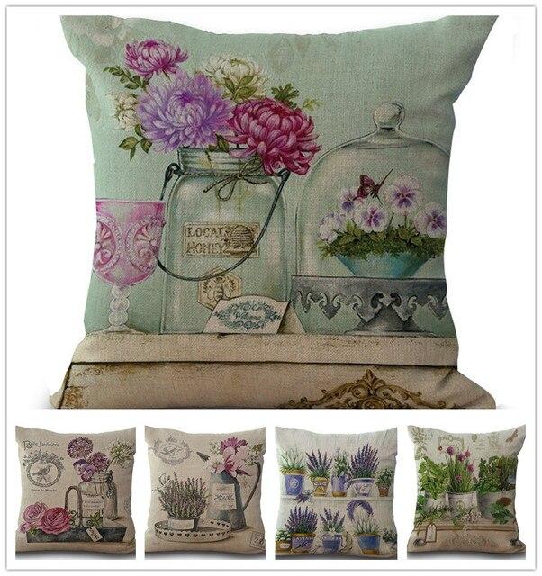 Vintage Wholesale Home Decor: Aliexpress.com : Buy Wholesale Vintage Flowers Pillow