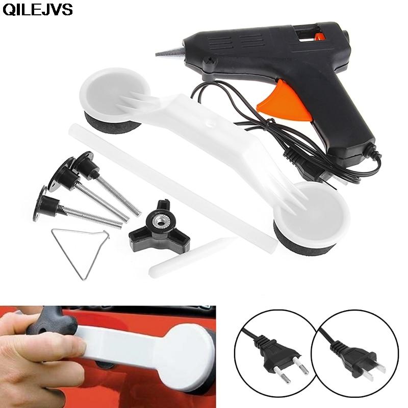 QILEJVS Car Body Damage Removal Tool Repair Tool DIY Auto Repairing hand Kit Tools vehicle care car styling