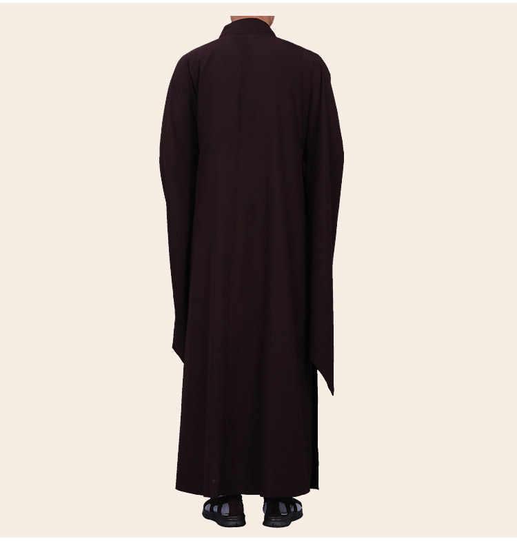 有名な 3 色黒/黄色仏教仏教コプソーン制服少林寺僧侶カンフーはレイ瞑想ローブ禅服