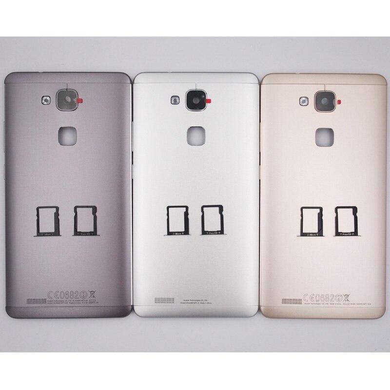 bilder für 100% neues Batteriefach Rückseite SIM Kartenbehälter Gehäuse Fall Für Huawei Taube 7 Mit Kameraobjektiv + Power Lautstärketasten