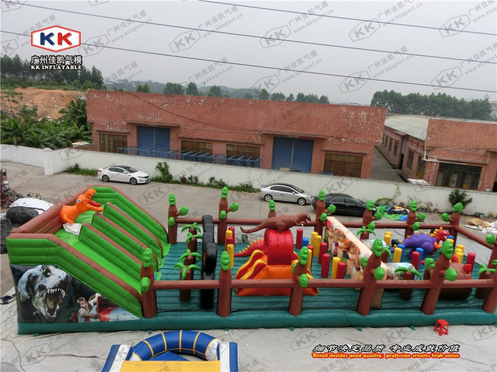 Big Party Rental inflatable slide jumper fun city for company events use